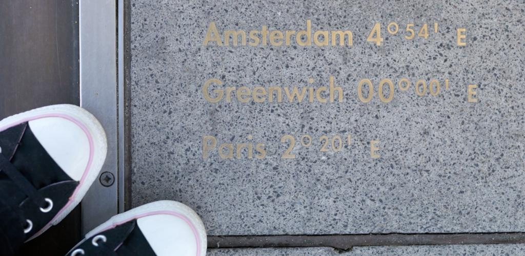 Visit Greenwich Mean Time and the Prime Meridian line.