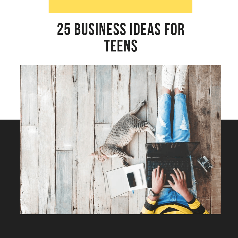 free workbook business ideas for teens