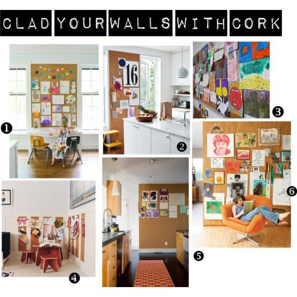 clad your walls with cork