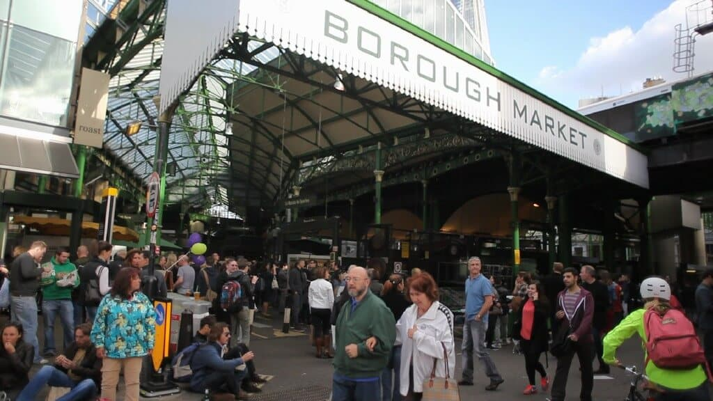 things to do in London on your own - Borough Market