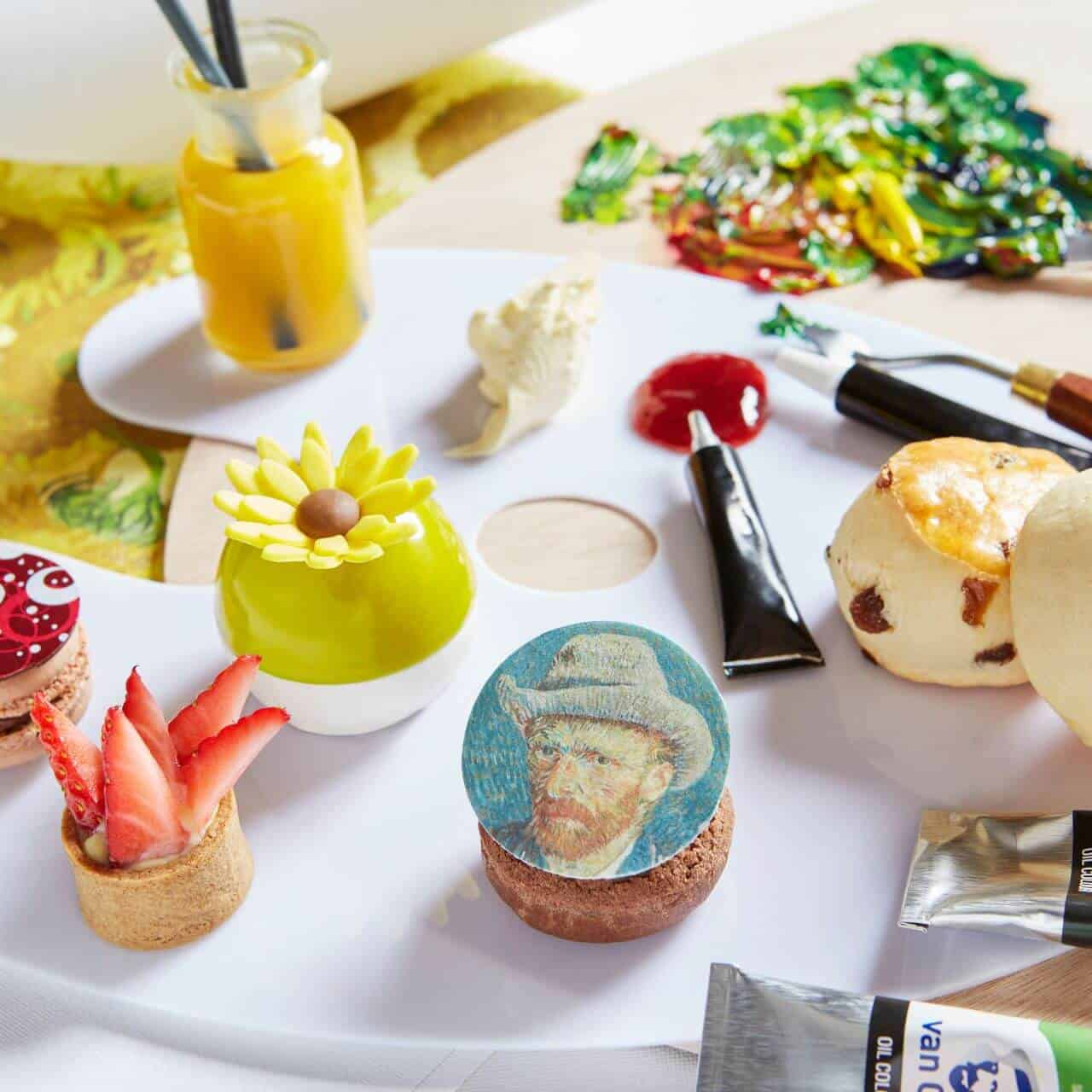 Rosewood London Van Gogh Afternoon Tea