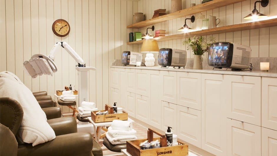 Cowshed spa oxford Street
