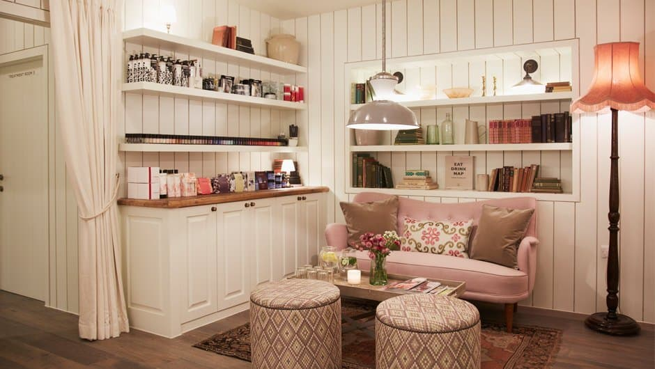 Cowshed spa accepts kids and teens