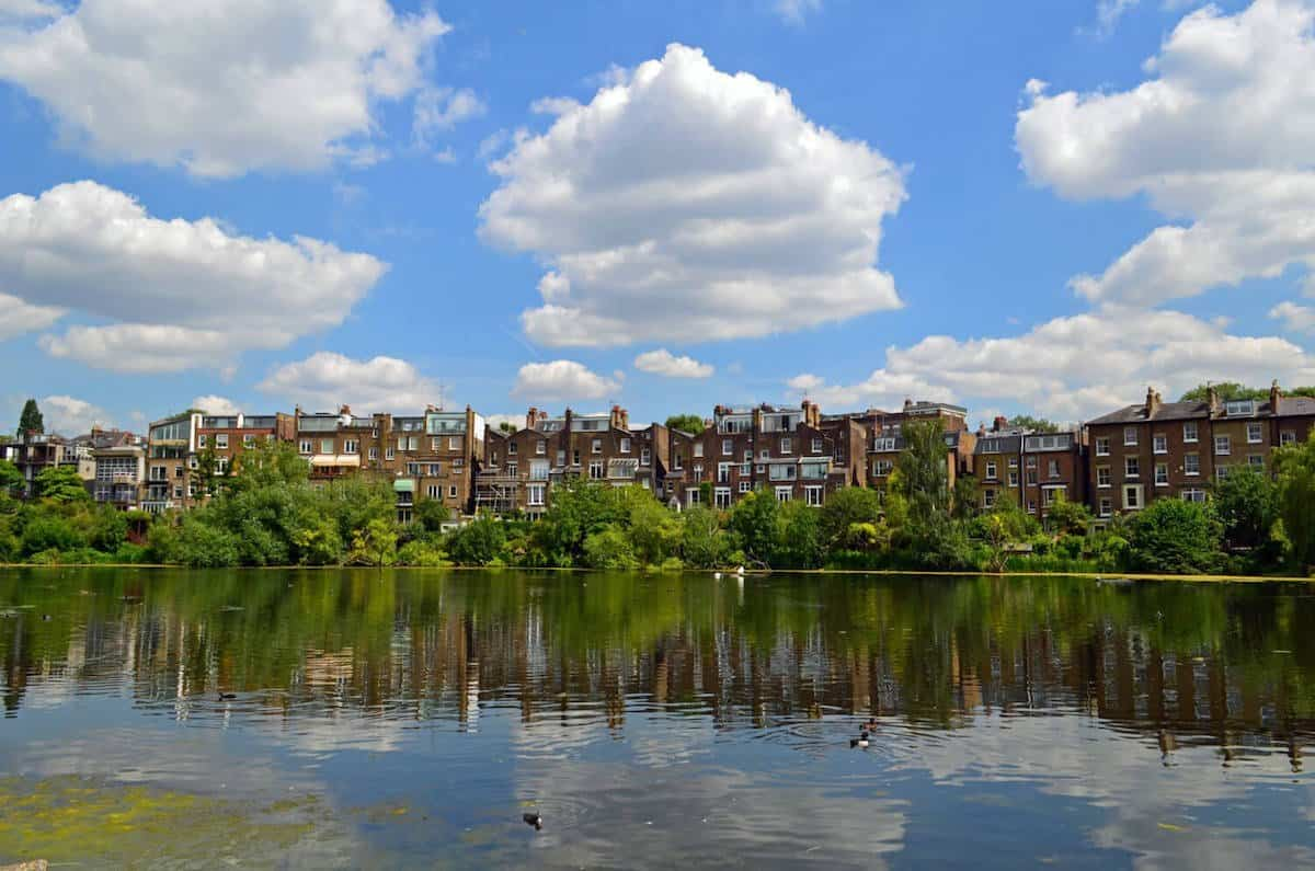 HAMPSTEAD HEATH PONDS