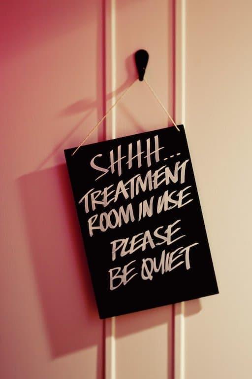 Lush spa treatments