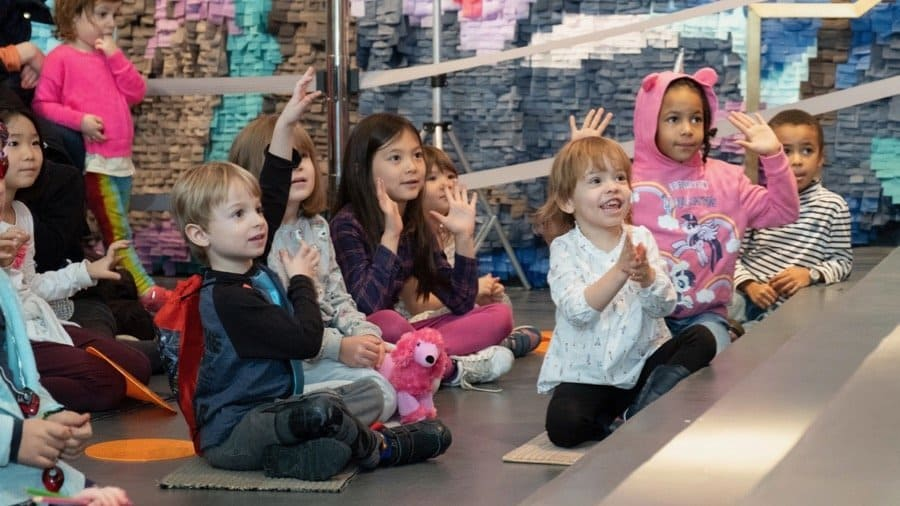child friendly sessions at Sugar Hill Children's Museum of Art & Storytelling