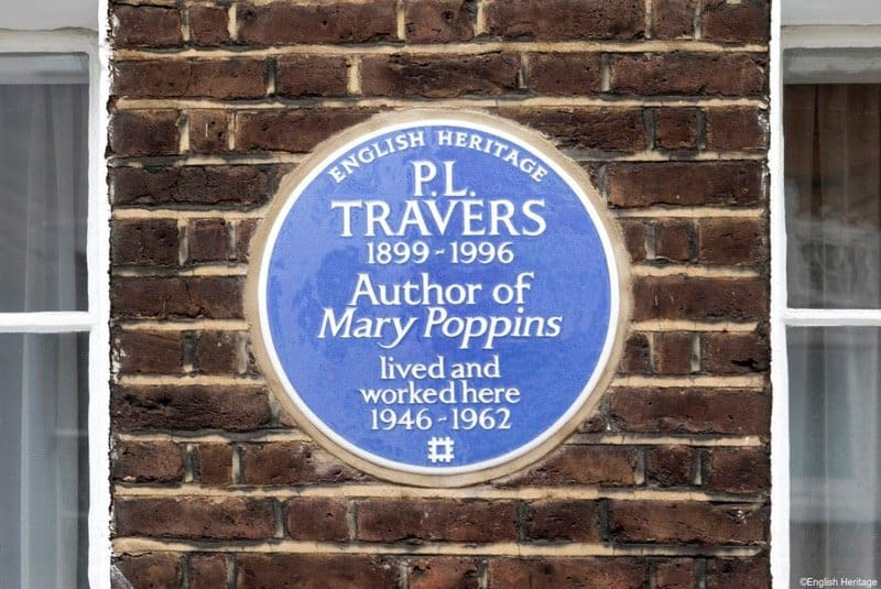 P L Travers mary Poppins author