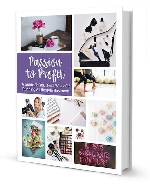 Passion to Profit book