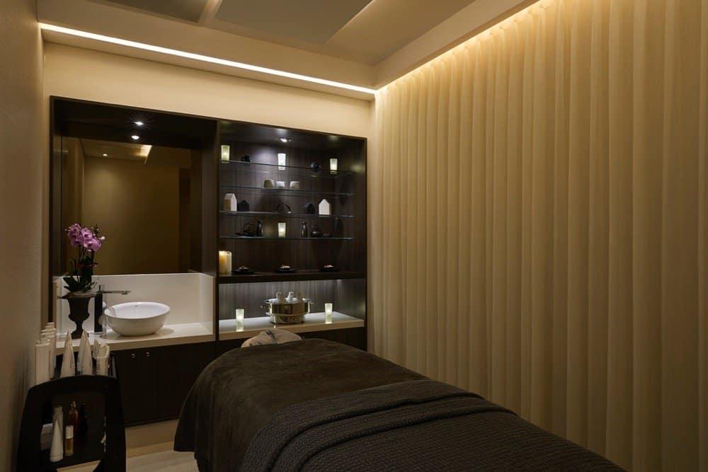 Landmark hotel treatment room