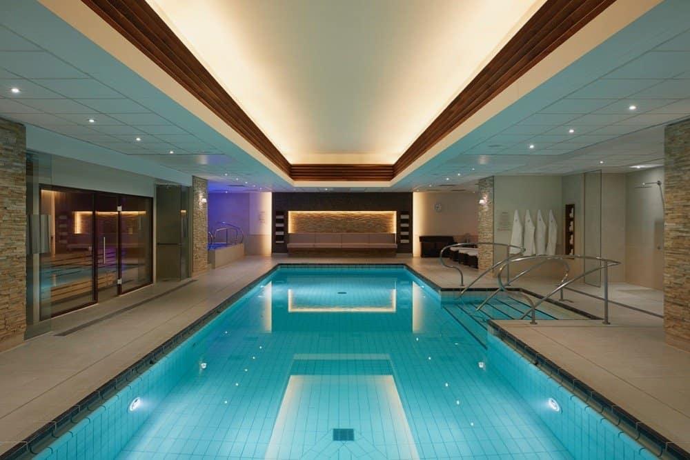 Landmark hotel pool