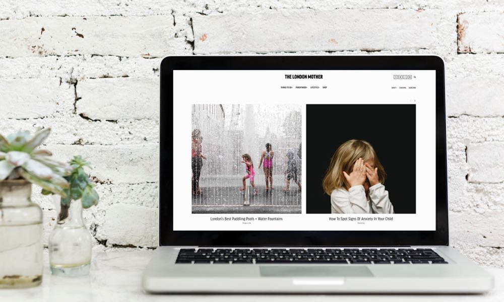 The London Mother website