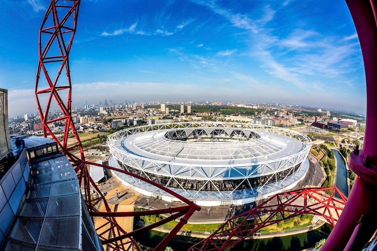 things to do at the olympic park - try the arcelor mittal slide