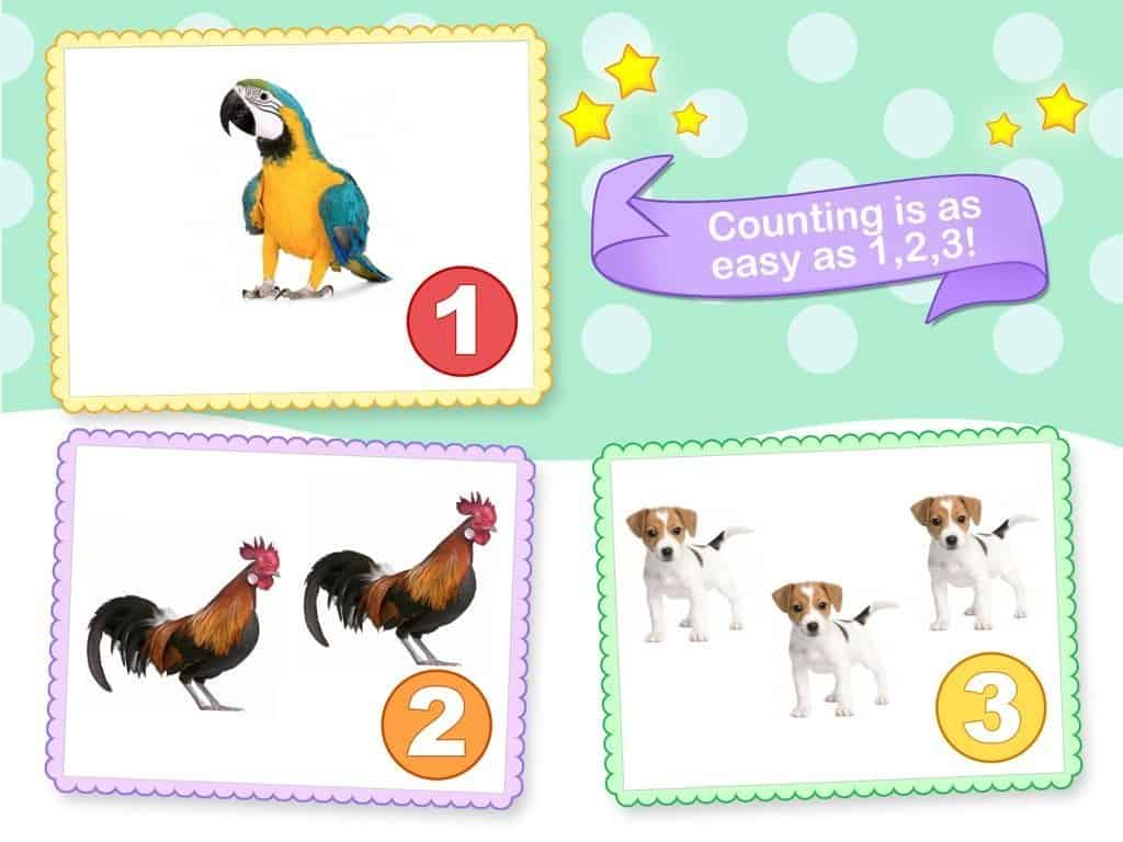 Toddler Counting 1,2, 3