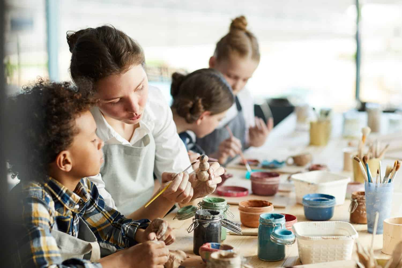 the best art classes for kids in London