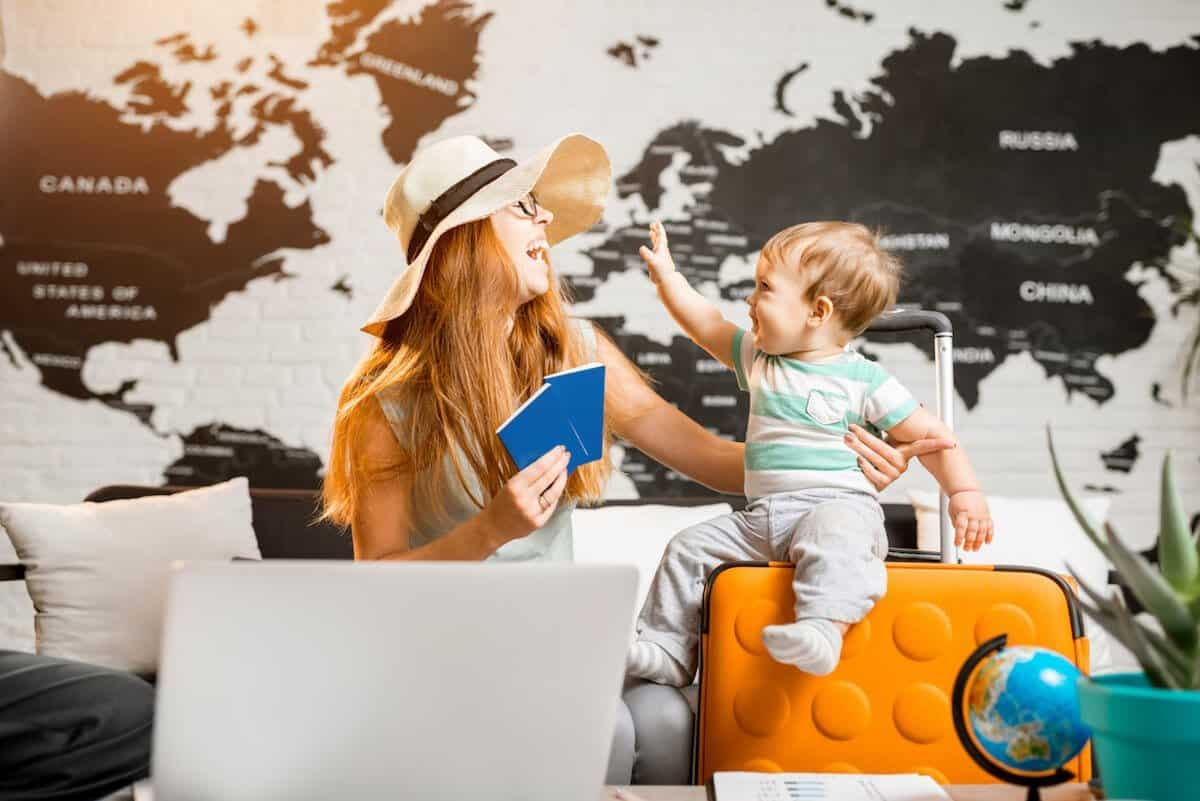 where to go on your first holiday with a baby