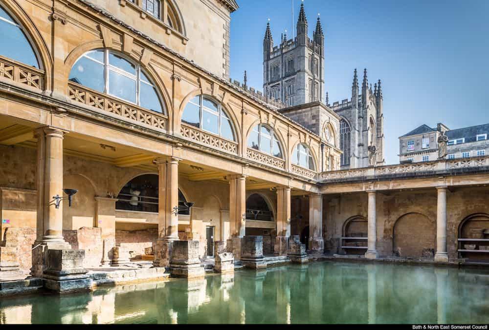Bath spa town Uk