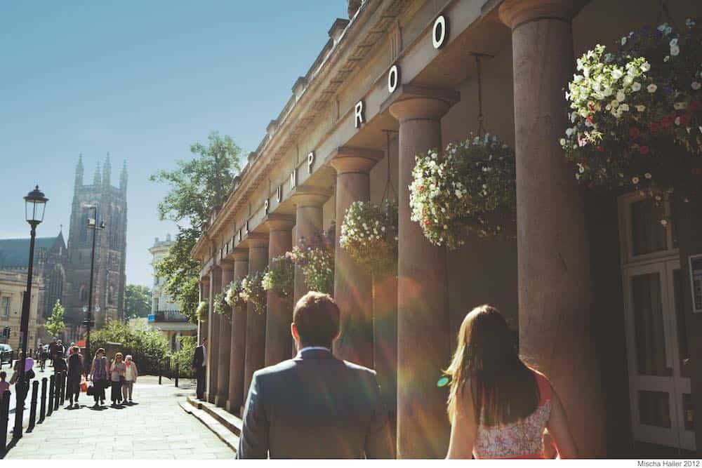 Royal Leamington Spa spa town UK
