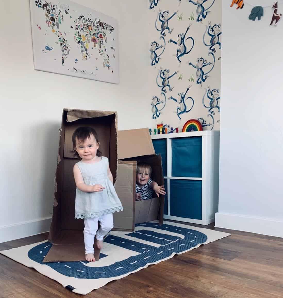 creative play in children