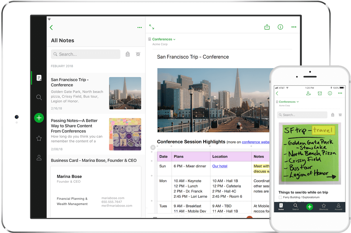 evernote from google