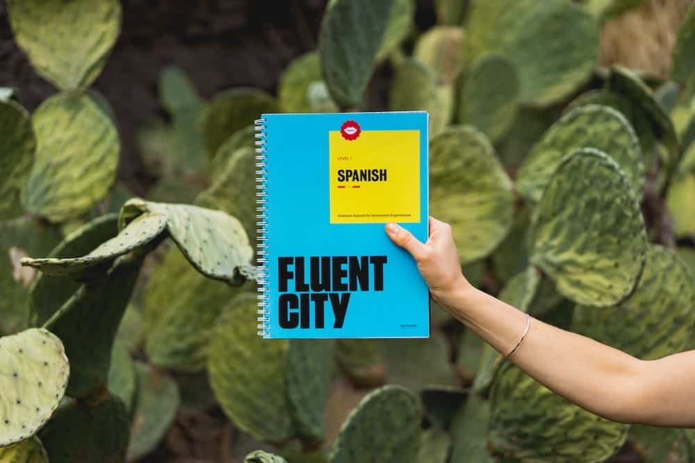 Learn Spanish with Fluent City book