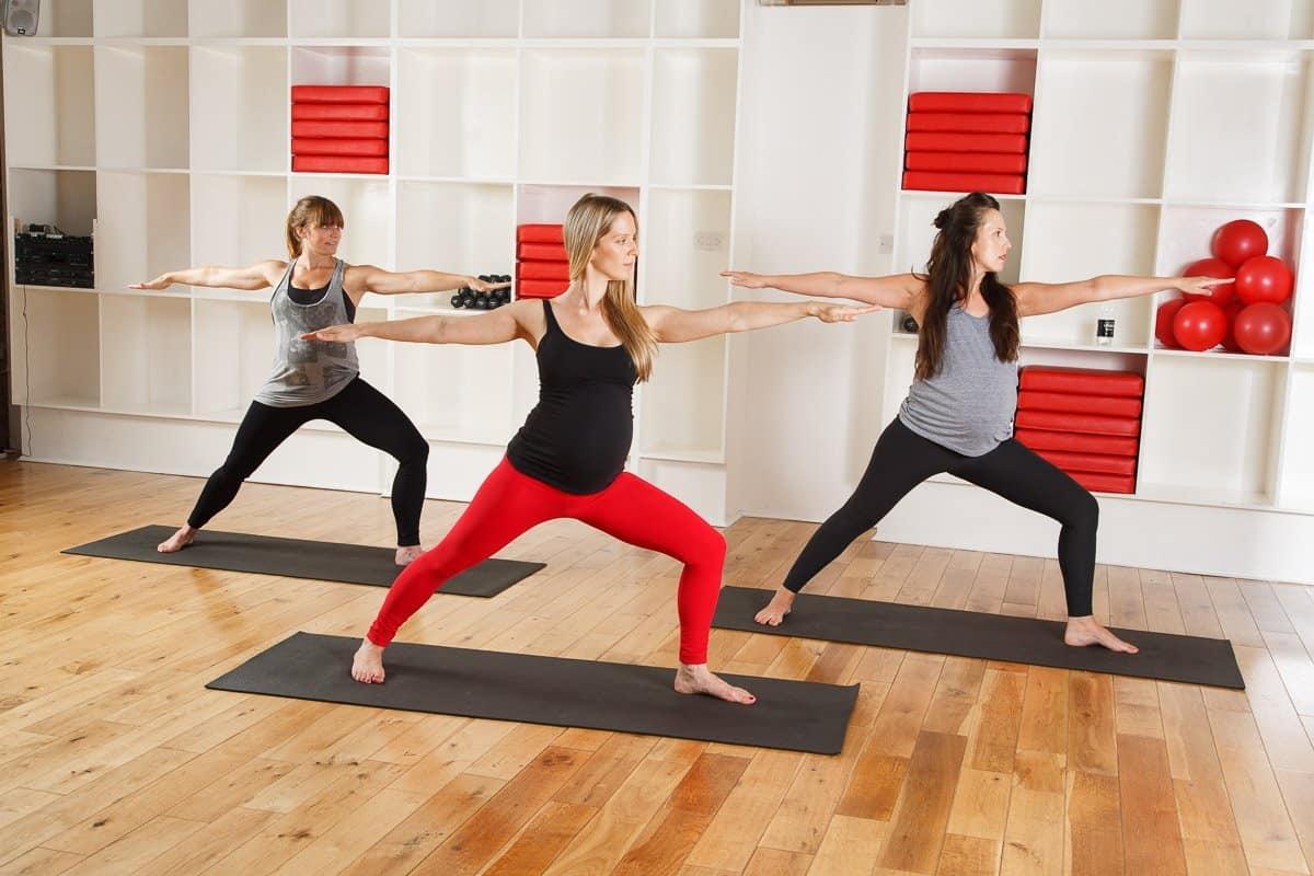 Frame's 'Mumhood Pre-Natal Yoga babymoon London