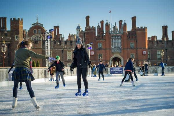 hampton court ice skating