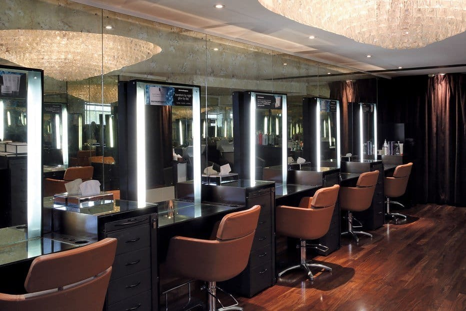 harrods hair and beauty salon accepts kids and teenagers