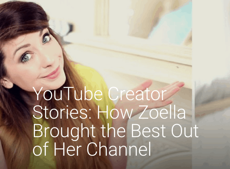 how did zoella start her blog