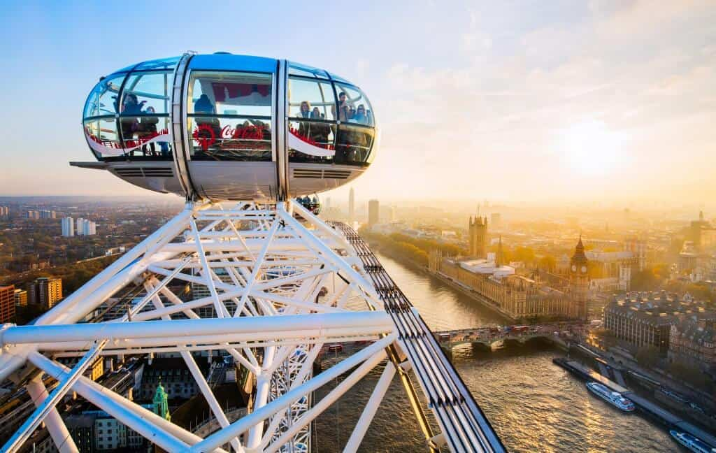 things to do in London on your own - go on the London eye