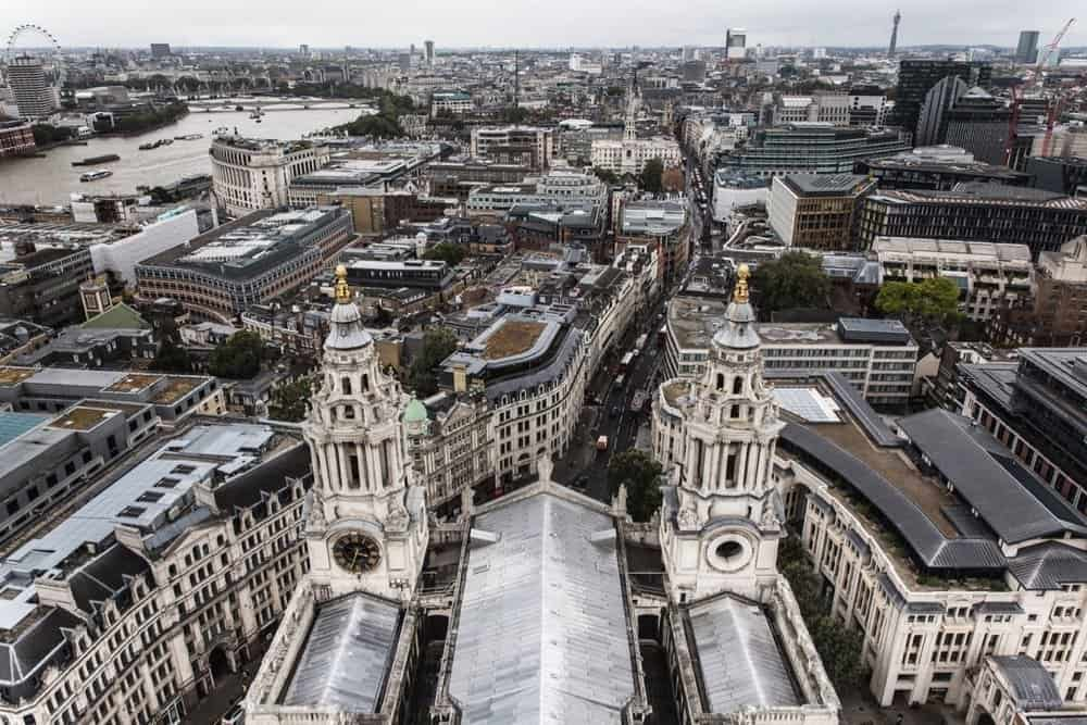 London's rooftops