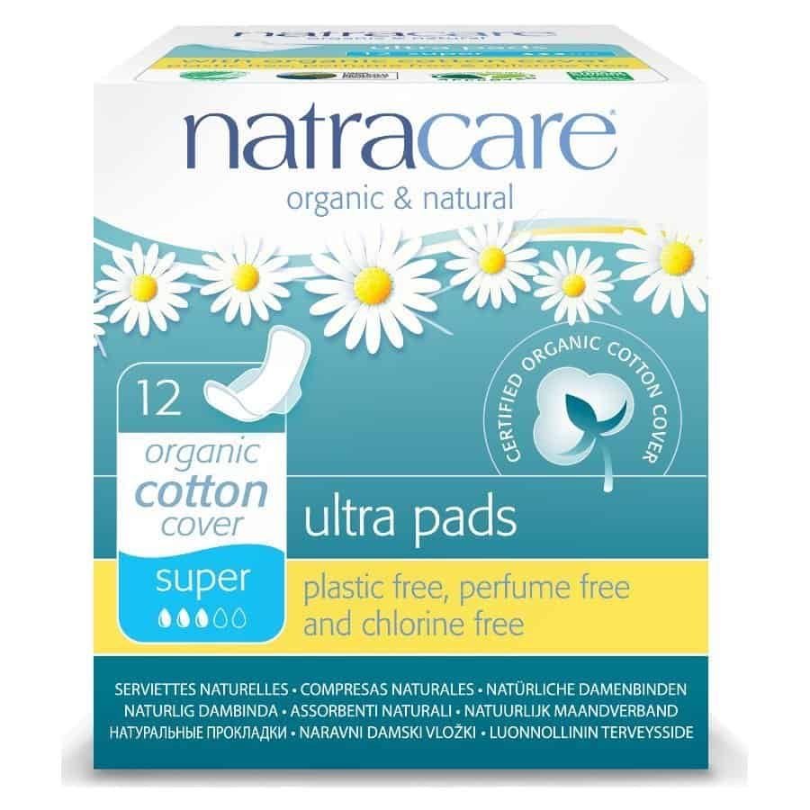 Organic Sanitary Pads from natracare