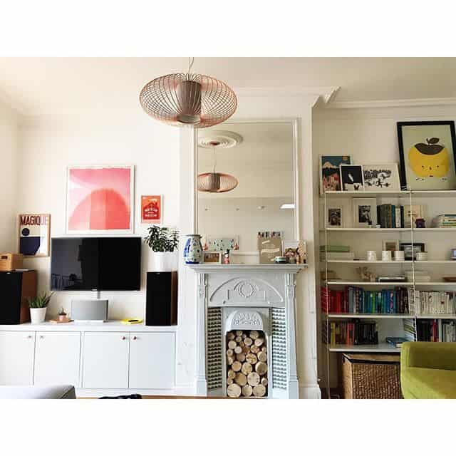 Eclectic yet minimalist style home