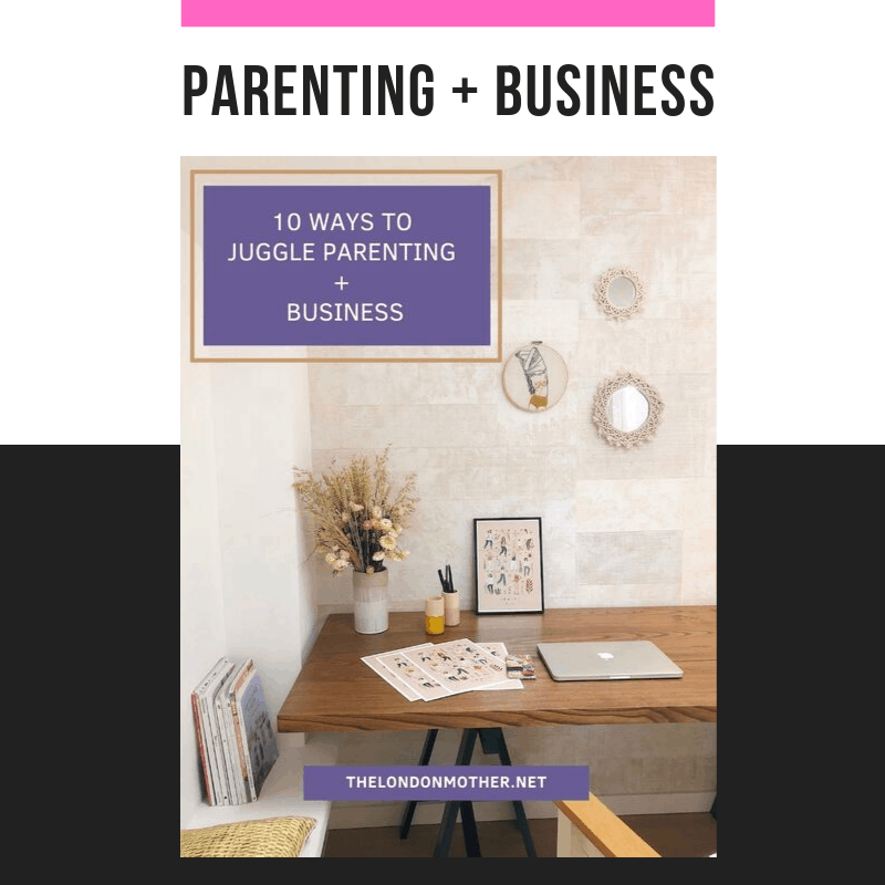 free ebook how to juggle parenting and business