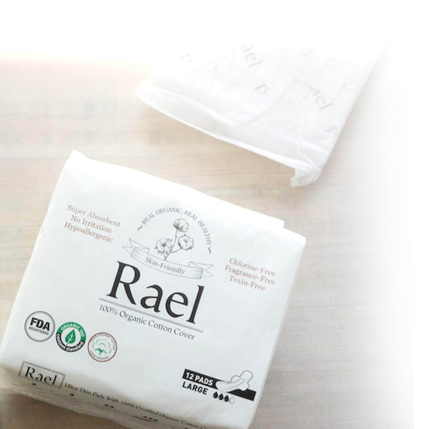 Organic Sanitary Pads from rael