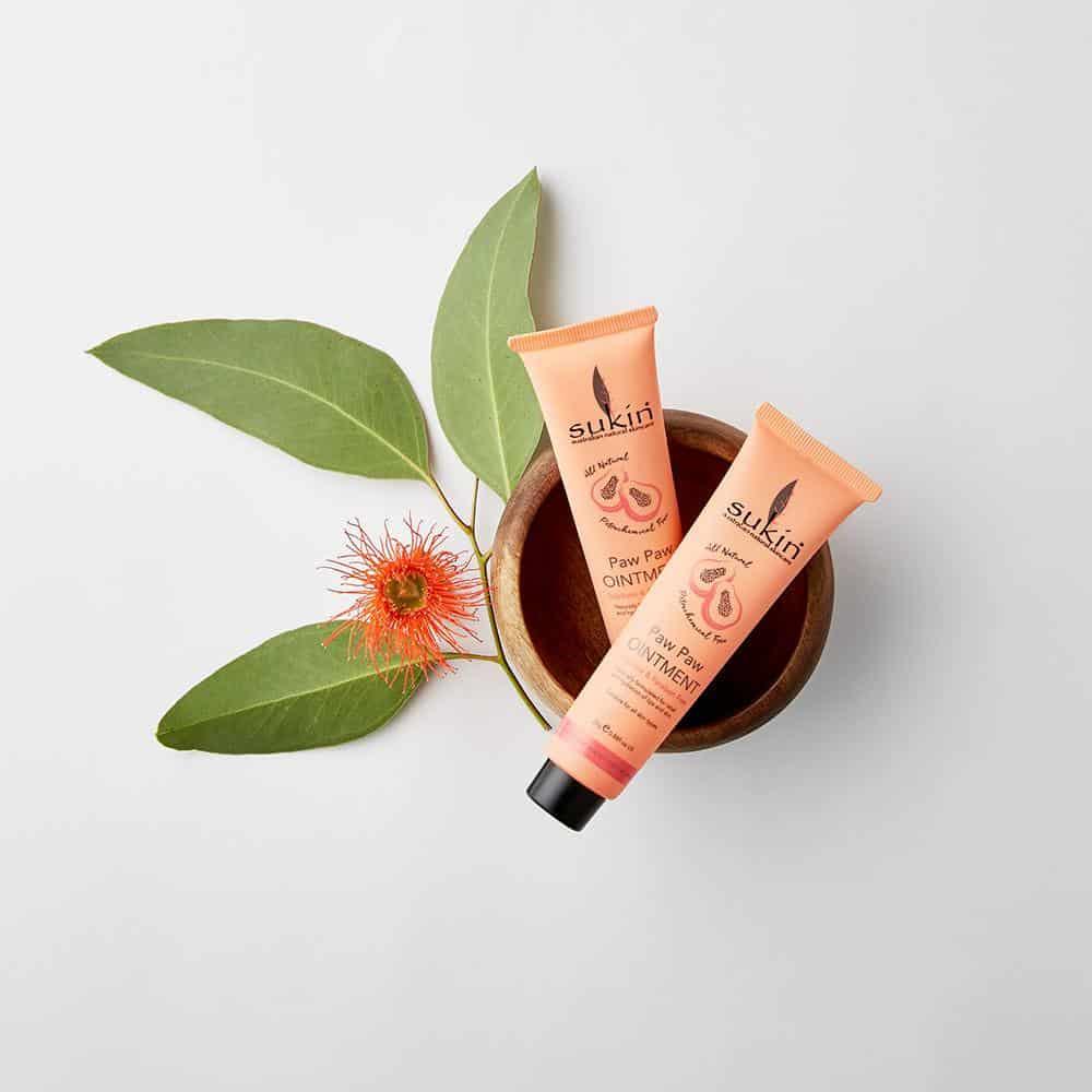 organic skincare Sukin paw paw ointment