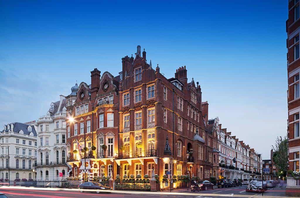 The Milestone family hotel in London