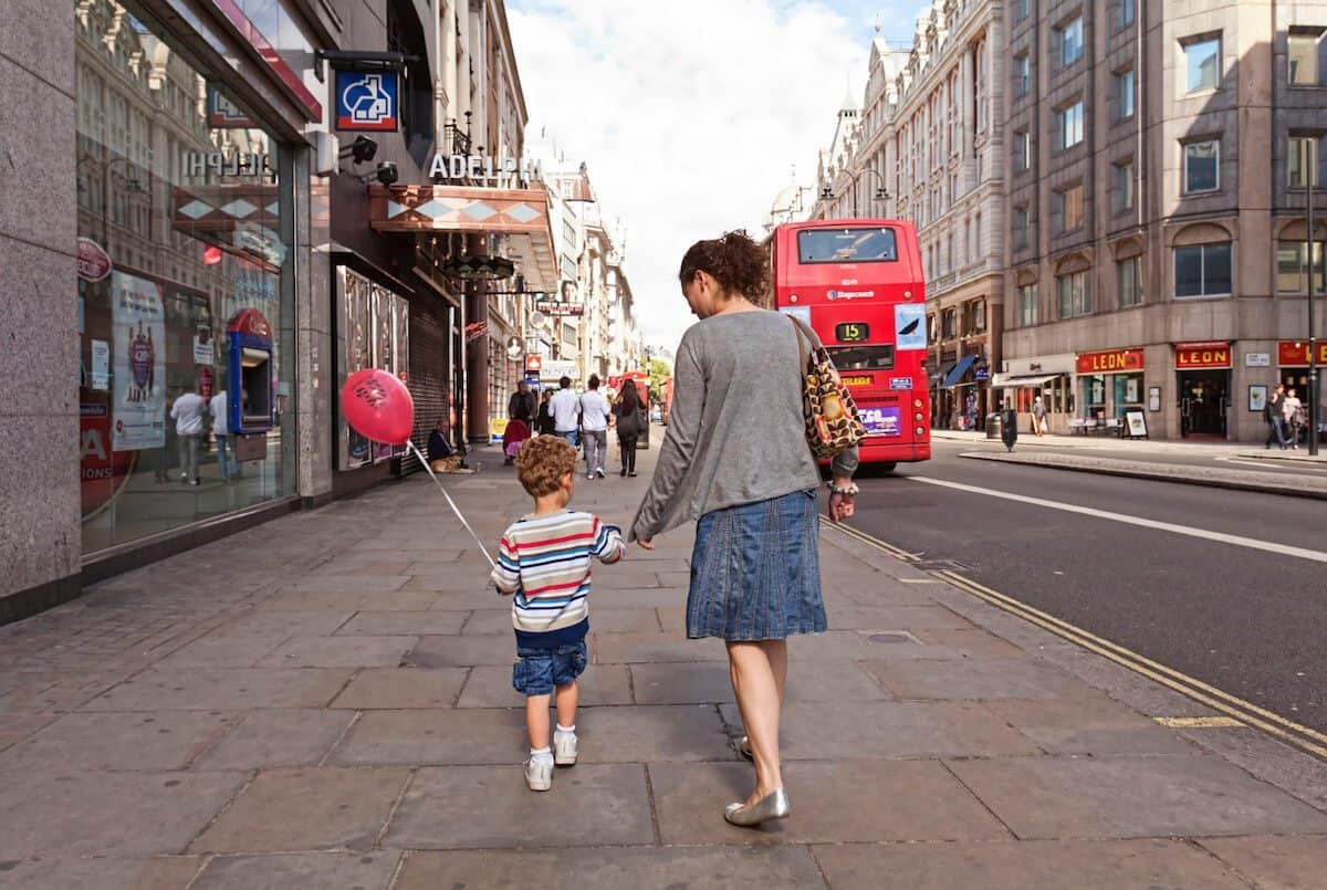 How to travel around London with a toddler