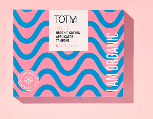 Organic Sanitary Pads from TOTM