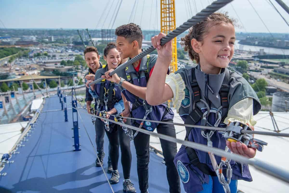 Looking for things to do at The O2 - why not climb it?