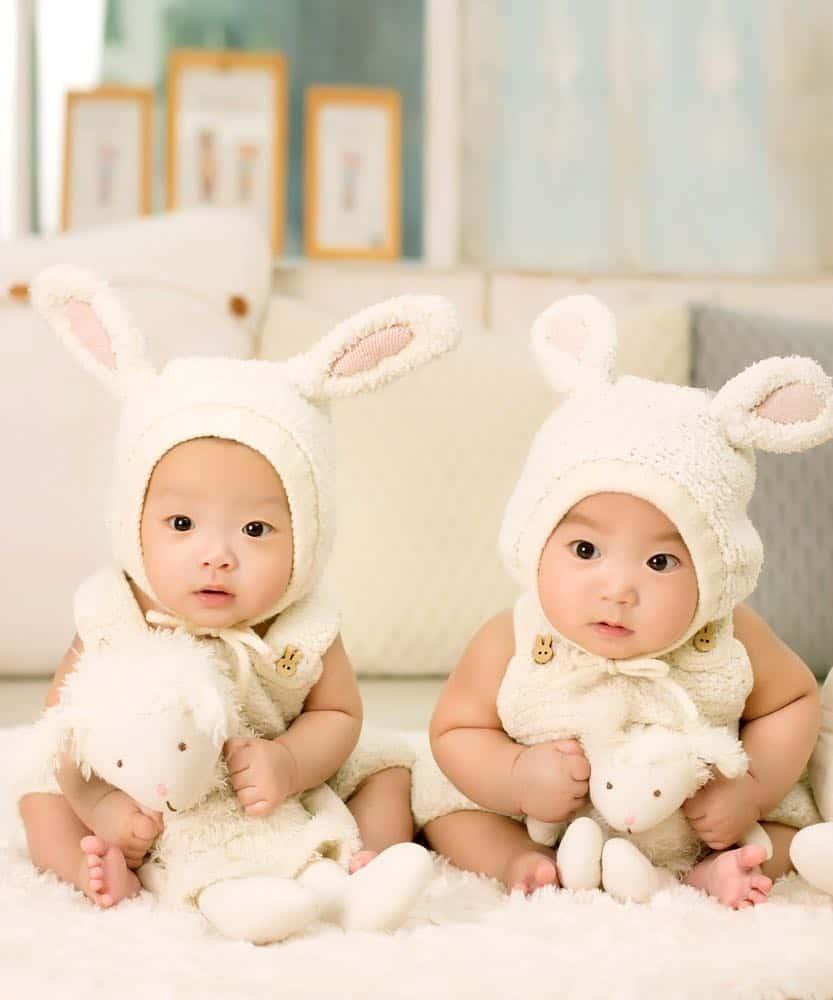 having twins